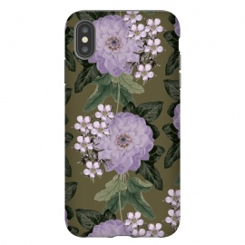 iPhone Xs Max  My Dear by Zala Farah (floral,purple,purple flowers,flower,flowers,flora,floral print,floral collage,floral pattern,floral art,art,print,pattern,lush,garden,flower print,flower pattern,flower art,purple flower print,flower collage,flower art print,vintage,dark flowers,zala02creations)
