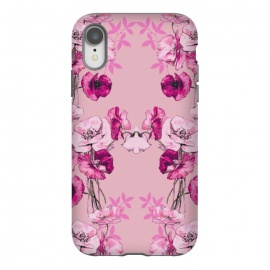 iPhone Xr  Dramatic Florals (Pink) by Zala Farah