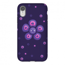 iPhone Xr  Purple Evil Flower by