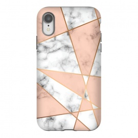 iPhone Xr  Marble Geometry 050 by Jelena Obradovic