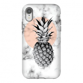 iPhone Xr  Marble Pineapple 053 by Jelena Obradovic