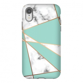 iPhone Xr  Marble Geometry 055 by Jelena Obradovic