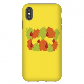 iPhone Xs Max  Autumn Leaves And Ladybugs by