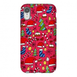 iPhone Xr  The Christmas Pattern by