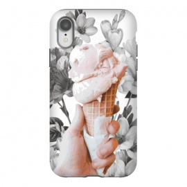 iPhone Xr  Floral Ice-Cream by Zala Farah