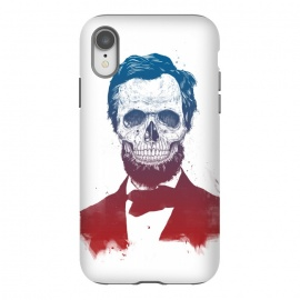 iPhone Xr  Dead Lincoln by Balazs Solti (Abraham Lincoln,abe,lincoln,president,usa,drawing)