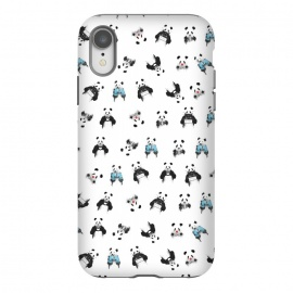 iPhone Xr  Panda pattern by Balazs Solti (pandas)
