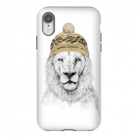iPhone Xr  Winter is here by Balazs Solti (lion,drawing,winter)