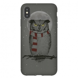iPhone Xs Max  Winter owl by Balazs Solti