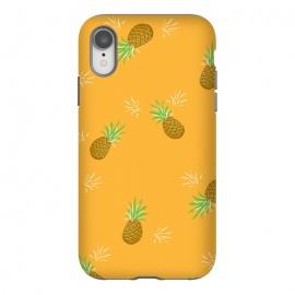 iPhone Xr  Pineapples in Mango by  (pineapple, fruit,fruity,nature,fun,orange,mango,yellow,gold,juicy,pattern)