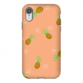 iPhone Xr  Pineapples in Guava by  (pineapple,pineapples,guava,pink,coral,juicy,fruit,fruity,pattern,nature,summer)