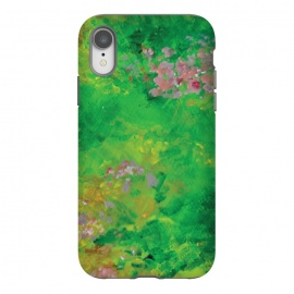 iPhone Xr  Impressionist Meadow by Zoe Charlotte (meadow,field,field of flowers,floral ,impressionist,impressionistic,monet,artwork,original artwork,hand painted,paint,painting,abstract painting,wildflowers)