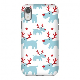 iPhone Xr  Cute Reindeers by Martina
