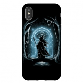 iPhone Xs Max  Speak friend and enter by Denis Orio Ibañez (gandalf,lotr,hobbit,lord of the rings)