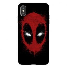 iPhone Xs Max  Ink Mercenary by Denis Orio Ibañez (deadpool,merc,superheroes,splatter)