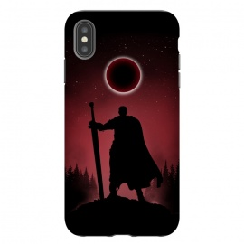 iPhone Xs Max  Egg of the King by Denis Orio Ibañez (berserk,guts,anime,manga,silhouette)