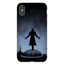 iPhone Xs Max  Assassin by Denis Orio Ibañez (assassins creed,gaming,video games,silhouette)