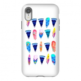 iPhone Xr  Candy Feather by  (feather,feathers,candy,color,rainbow,minimal,bohemian)