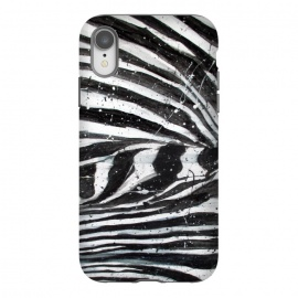 iPhone Xr  Zebra Stripes by ECMazur  (zebra,animal print,stripes,black and white,pattern,abstract,animal,wildlife,nature)