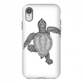 iPhone Xr  Baby Sea Turtle by ECMazur