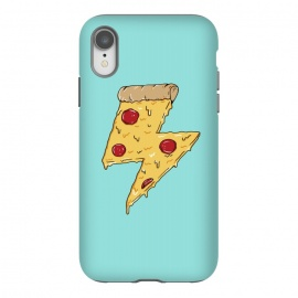 iPhone Xr  Pizza power green by
