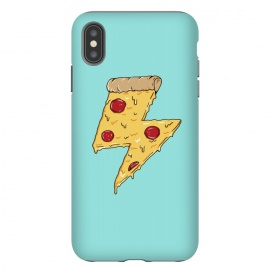 iPhone Xs Max  Pizza power green by Coffee Man