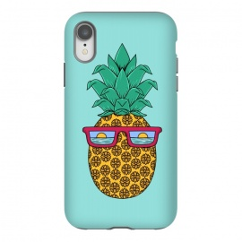 Floral Pineapple by Coffee Man (summer,spring break,pineapple, ocean, sea, marine, beach,sun, sun glasses,floral, flowers,fun, funny, fashion, gift,sunset)