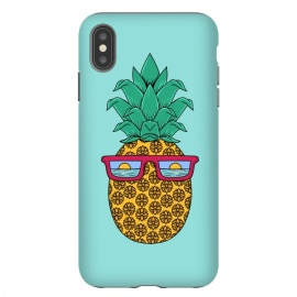 iPhone Xs Max  Floral Pineapple by Coffee Man