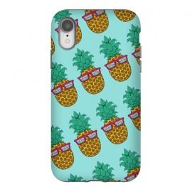 iPhone Xr  Floral Pineapple pattern by Coffee Man