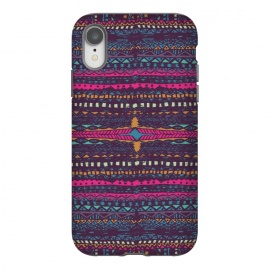 iPhone Xr  Tribal Stripe by Susanna Nousiainen