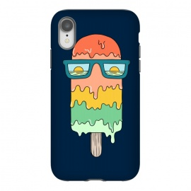 Hot ice Cream  by Coffee Man (summer, spring break,vacation, hot, melted,ice cream,sun, ocean, sea,marine,food,sun glasses,creative)