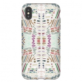 iPhone Xs Max  Tribal I by Susanna Nousiainen