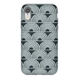 iPhone Xr  Aurora by  (geo,geometric,abstract,pattern,patterns,vintage,vector,pop-art,texture,black,grey,gray)