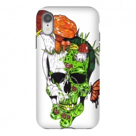 iPhone Xr  Old Skull Butterfly by Varo Lojo