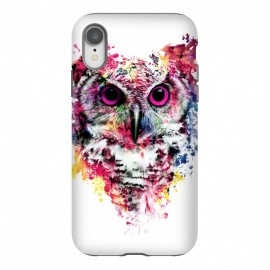 iPhone Xr  Owl by  (owl,colorful,watercolor,art)