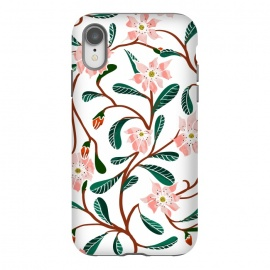 iPhone Xr  Floral Deco by Uma Prabhakar Gokhale