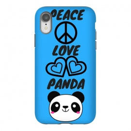 iPhone Xr  peace love panda by MALLIKA