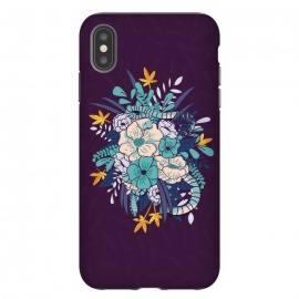 iPhone Xs Max  Jungle Bouquet 002 by Jelena Obradovic