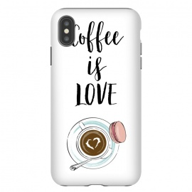 iPhone Xs Max  Coffee is love by Martina