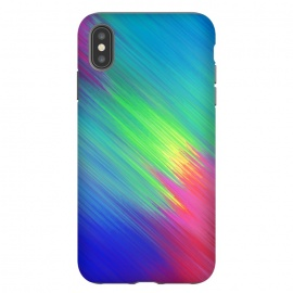 iPhone Xs Max  Colorful Movement by Sitchko Igor (Texture, Pattern, Geometry, Vector, Digital art, geometric, Minimal, Minimalistic, cover,colorful,colors,splash,blur)