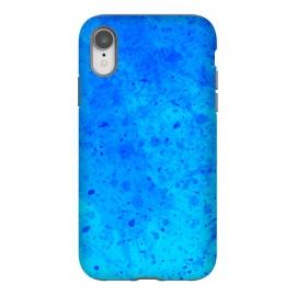 iPhone Xr  Blue Chaos by  (Texture, Pattern, Geometry, Vector, Digital art, geometric, Minimal, Minimalistic, cover,splash)