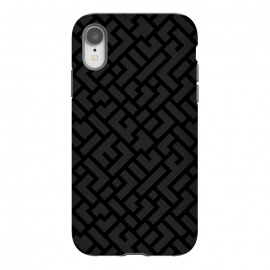 iPhone Xr  Black Labyrinth by Sitchko Igor