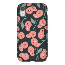 iPhone Xr  Delicate Flowers Dark by