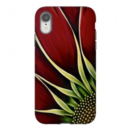 iPhone Xr  Red Gazania II by Denise Cassidy Wood