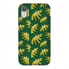 Clawed Abstract Green Leaf Pattern by Boriana Giormova