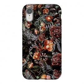 iPhone Xr  Snake by Riza Peker (snake,botaical,floral,flowers,fall,colors)