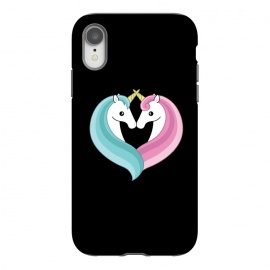 iPhone Xr  Unicorn heart by Laura Nagel
