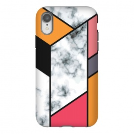 iPhone Xr  Marble Geometry 012 by Jelena Obradovic