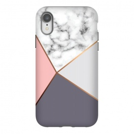 iPhone Xr  Marble Geometry 016 by Jelena Obradovic