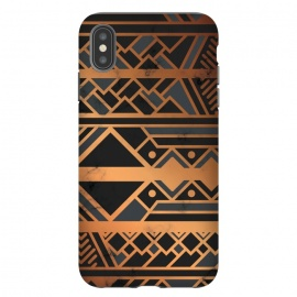 iPhone Xs Max  Black and Gold 028 by Jelena Obradovic